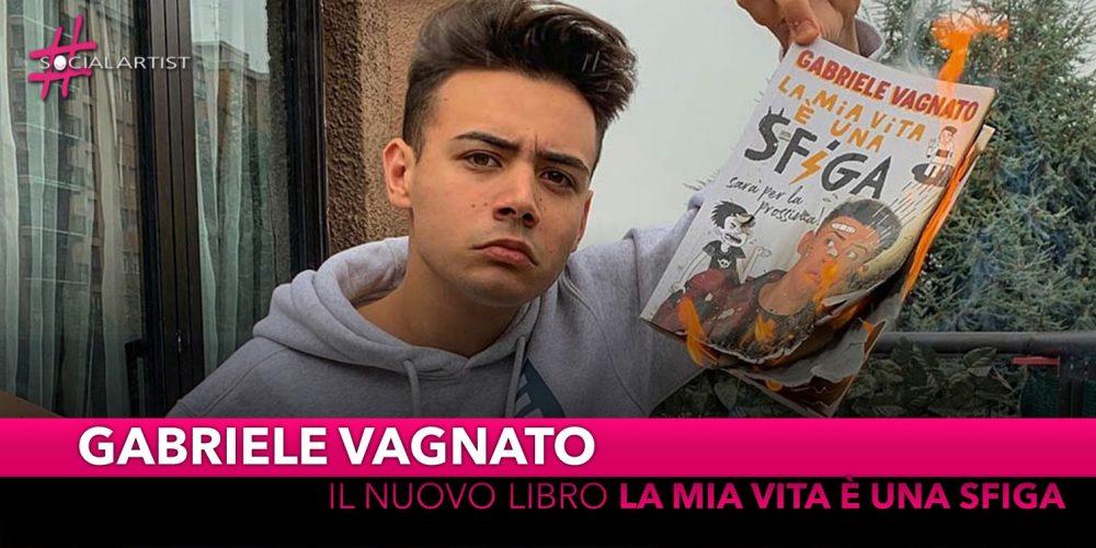 """Gabriele Vagnato, da martedì 15 ottobre il nuovo libro """"La mia vita è una sfiga"""""""