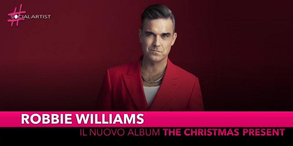 """Robbie Williams, dal 22 novembre il nuovo album di Natale """"The Christmas Present"""""""