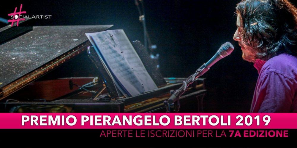 Premio Pierangelo Bertoli 2019, aperte le iscrizioni per la 7a edizione