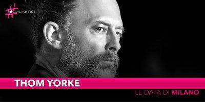 Thom Yorke, live il 9 luglio all'Ippodromo SNAI San Siro