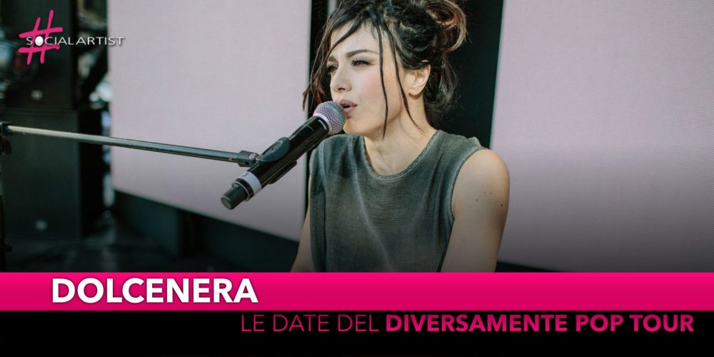 """Dolcenera, live nei teatri con """"Diversamente Pop"""""""
