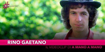 """Rino Gaetano, dal 29 ottobre il videoclip di """"A mano a mano"""""""
