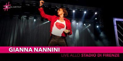 Gianna Nannini, live allo stadio Artemio Franchi di Firenze
