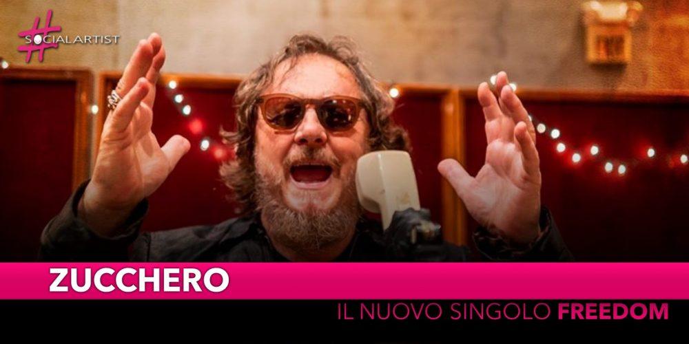 """Zucchero, dal 4 ottobre il nuovo singolo """"Freedom"""""""