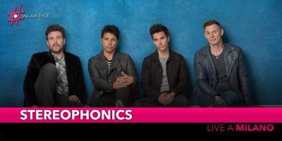 Stereophonics, sabato 8 febbraio in concerto a Milano