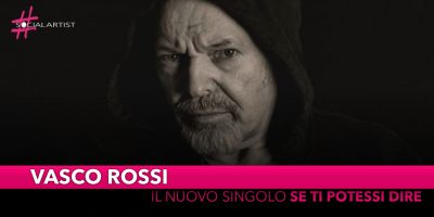 """Vasco Rossi, dal 25 ottobre il nuovo singolo """"Se ti potessi dire"""""""