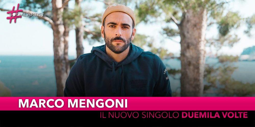 """Marco Mengoni, dal 4 ottobre il nuovo singolo """"Duemila Volte"""""""