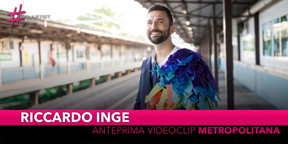 "Riccardo Inge, dal 25 ottobre il videoclip ""Metropolitana"" (ANTEPRIMA VIDEOCLIP)"