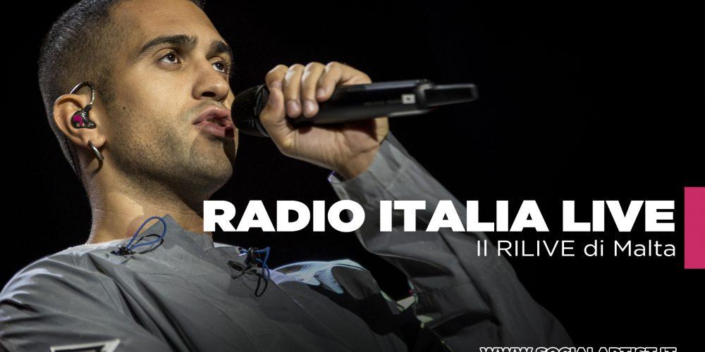 Radio Italia Live, le foto e il video della data di Malta