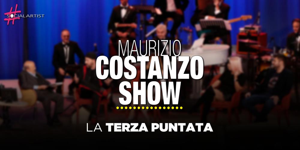 Maurizio Costanzo Show, la terza puntata in onda il 13 novembre