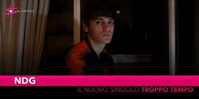 """NDG, dal 1 novembre il nuovo singolo """"Troppo Tempo"""""""