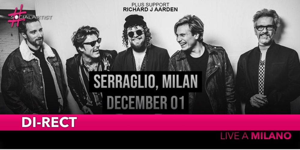 DI-RECT, tornano live in Italia il 1 dicembre a Serraglio
