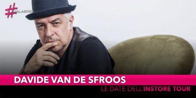 """Davide Van de Sfroos, dal 23 novembre partirà il """"Quanti Nocc Instore Tour"""""""