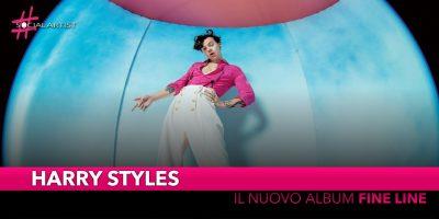 """Harry Styles, dal 13 dicembre il nuovo album """"Fine Line"""""""