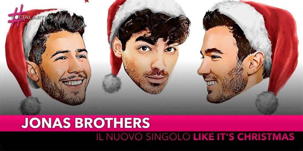 """Jonas Brothers, da venerdì 8 novembre il nuovo singolo """"Like it's Christmas"""""""