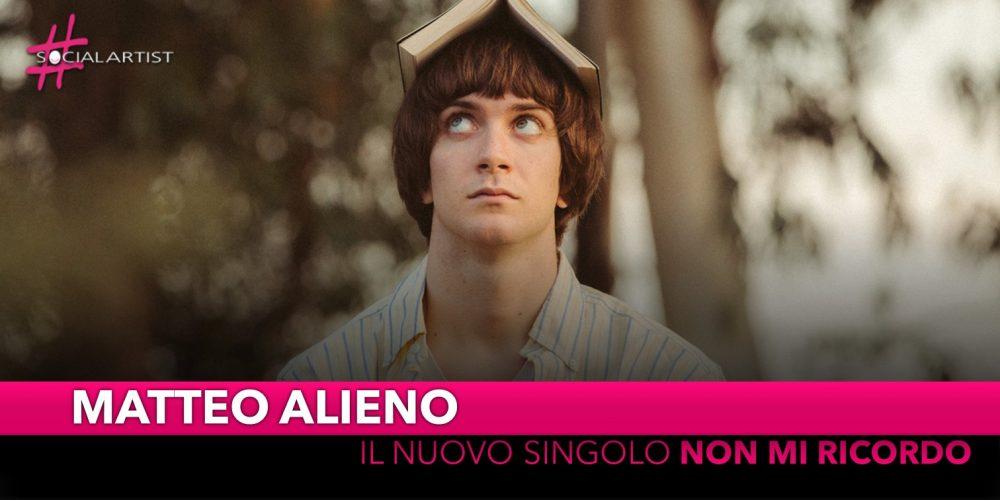 """Matteo Alieno, dal 19 novembre il nuovo singolo """"Non mi ricordo"""""""