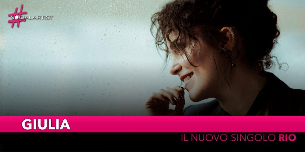 """Giulia, dal 29 novembre il nuovo singolo """"Rio"""""""