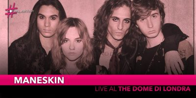 Måneskin, live al The Dome di Londra il 28 novembre