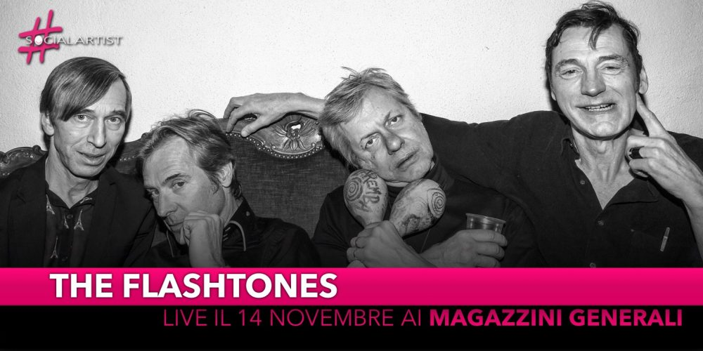 The Flashtones, giovedì 14 novembre ai Magazzini Generali