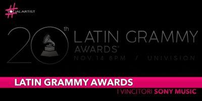 Annual Latin Grammy Awards, gli artisti Sony Music dominano la 20esima edizione