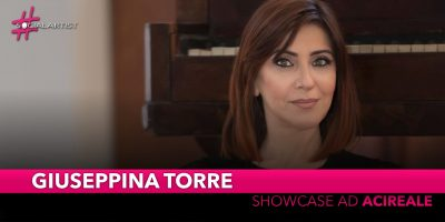 Giuseppina Torre, sabato 9 novembre al Cappellani Music Megastore di Acireale