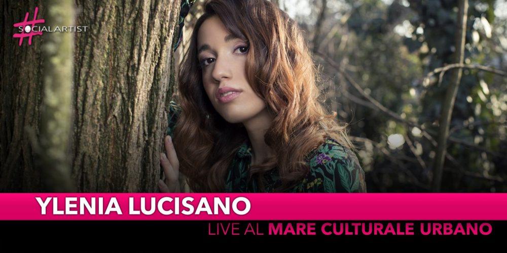 """Ylenia Lucisano, domenica 24 novembre al """"Mare Culturale Urbano"""" di Milano"""