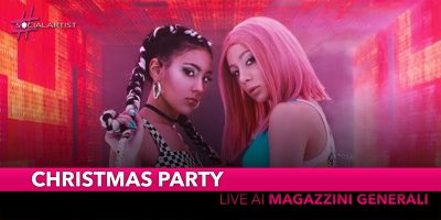 Christmas Party, Chadia Rodriguez e Luna live ai Magazzini Generali