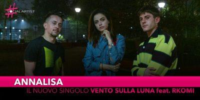 """Annalisa, da venerdì 29 novembre il nuovo singolo """"Vento sulla Luna"""" feat. Rkomi"""