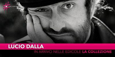 Lucio Dalla, dal 3 dicembre arriva in edicola la collezione con 22 dischi