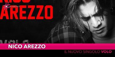 """Nico Arezzo, da venerdì 29 novembre il nuovo singolo """"Volo"""""""