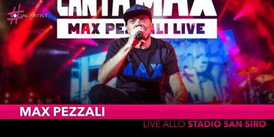 Max Pezzali, annunciate le date live allo Stadio San Siro