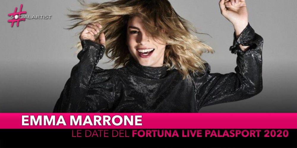 """Emma Marrone, annunciate le date del """"Fortuna Live Palasport 2020"""" (RINVIATO)"""