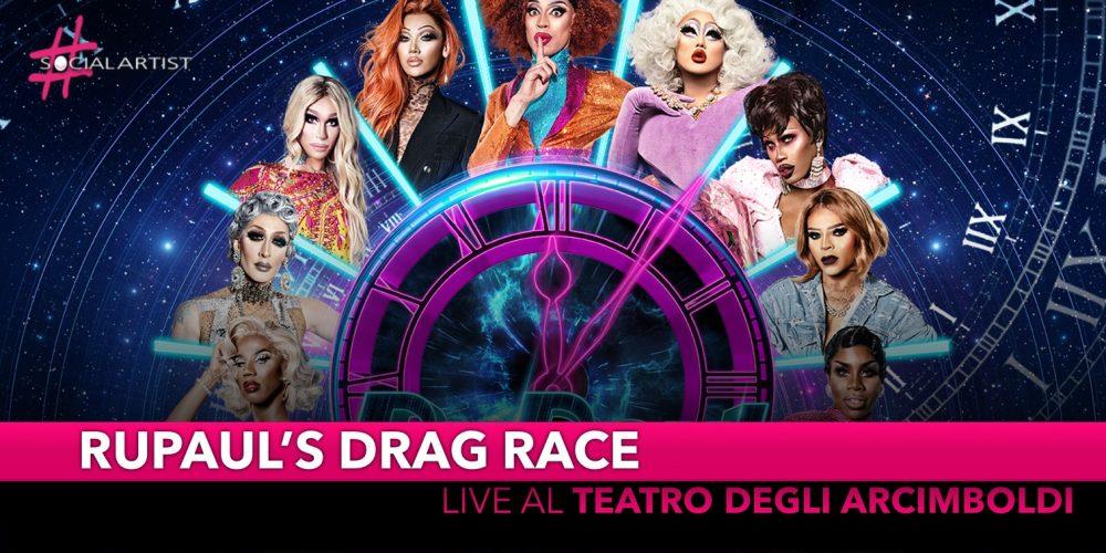 RuPaul's Drag Race, al Teatro degli Arcimboldi di Milano il prossimo 27 maggio