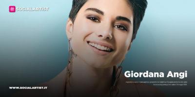 Giordana Angi, annunciata la data live al Palazzo dello Sport di Roma (ANNULLATA)