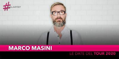 Marco Masini, un tour nei teatri per i 30 anni di carriera