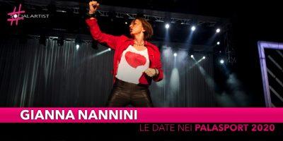 Gianna Nannini, le date nei palasport del tour 2020 (RINVIATO)