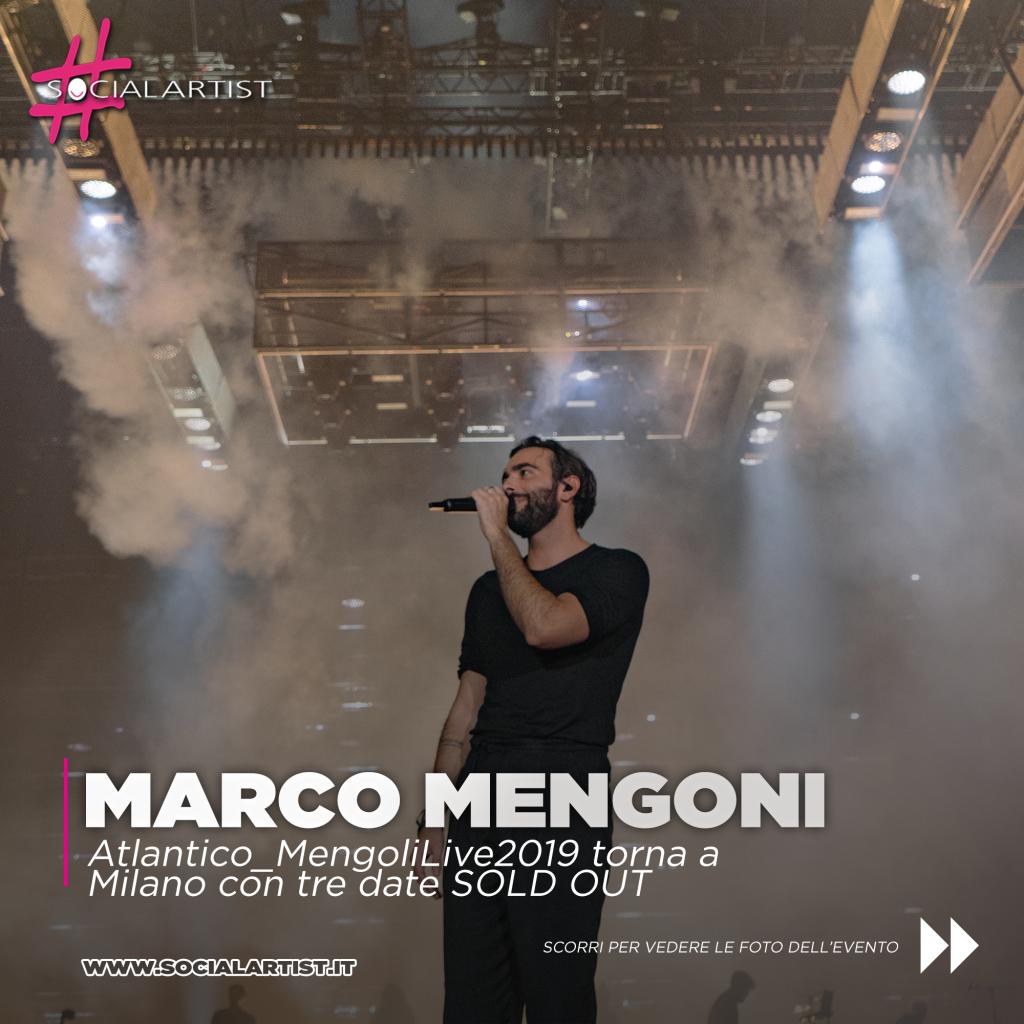 Marco Mengoni Atlantico Tour Mediolanum Forum Milano