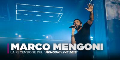 Marco Mengoni, oltre 5,5mila persone per il Mengoni Live 2019 di Mantova