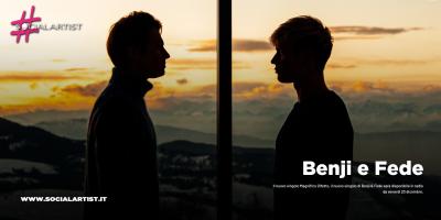 """Benji e Fede, dal 20 dicembre il nuovo singolo """"Magnifico difetto"""""""