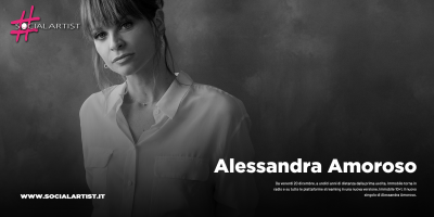 """Alessandra Amoroso, dal 20 dicembre il nuovo singolo """"Immobile 10+1"""""""