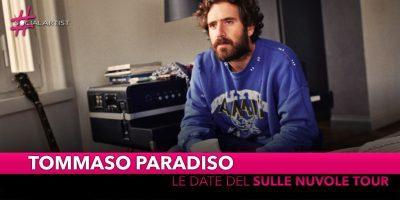 """Tommaso Paradiso, le date del """"Sulle nuvole tour"""" (RINVIATO)"""