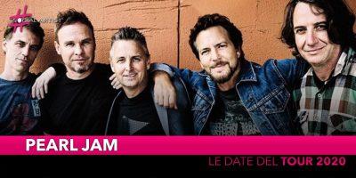 Pearl Jam, annunciate le date del tour estivo