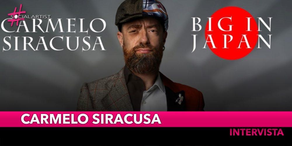 """INTERVISTA Carmelo Siracusa: """"Nei brani che sto proponendo cerco di dare voce a molti aspetti"""""""