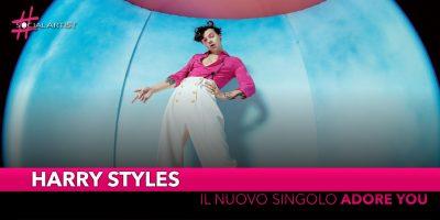 """Harry Styles, da venerdì 6 dicembre il nuovo singolo """"Adore You"""""""