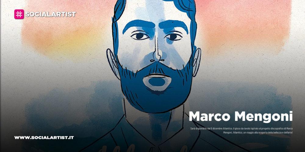 """Marco Mengoni, dal 6 dicembre il gioco da tavolo """"Atlantico"""""""