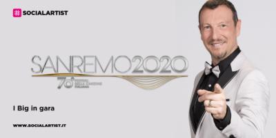 Sanremo 2020, la lista dei ventiquattro big in gara al Festival