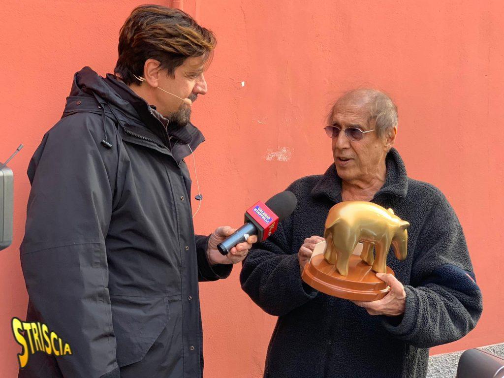 Adriano Celentano Tapiro D'Oro