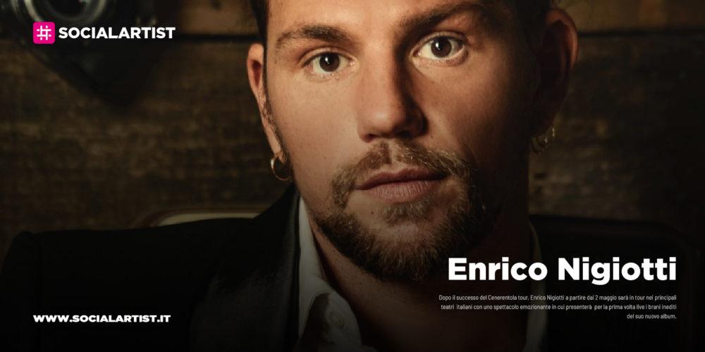 Enrico Nigiotti, le date del tour teatrale del 2020