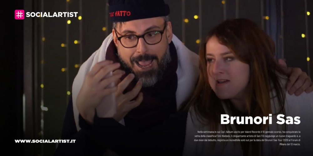"""Brunori Sas, il corto in collaborazione con Michela Giraud """"L'insostenibile leggerezza dei social"""""""