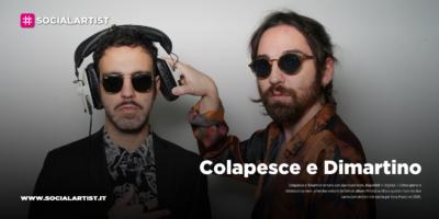 """Colapesce e Dimartino, dal 24 gennaio il nuovo singolo """"L'ultimo giorno"""""""